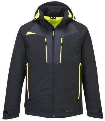 PPG Workwear Portwest DX4 Winter Jacket DX460 Black Colour