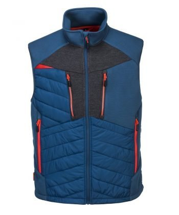 PPG Workwear Portwest DX4 Baffle Gilet DX470 Blue Colour