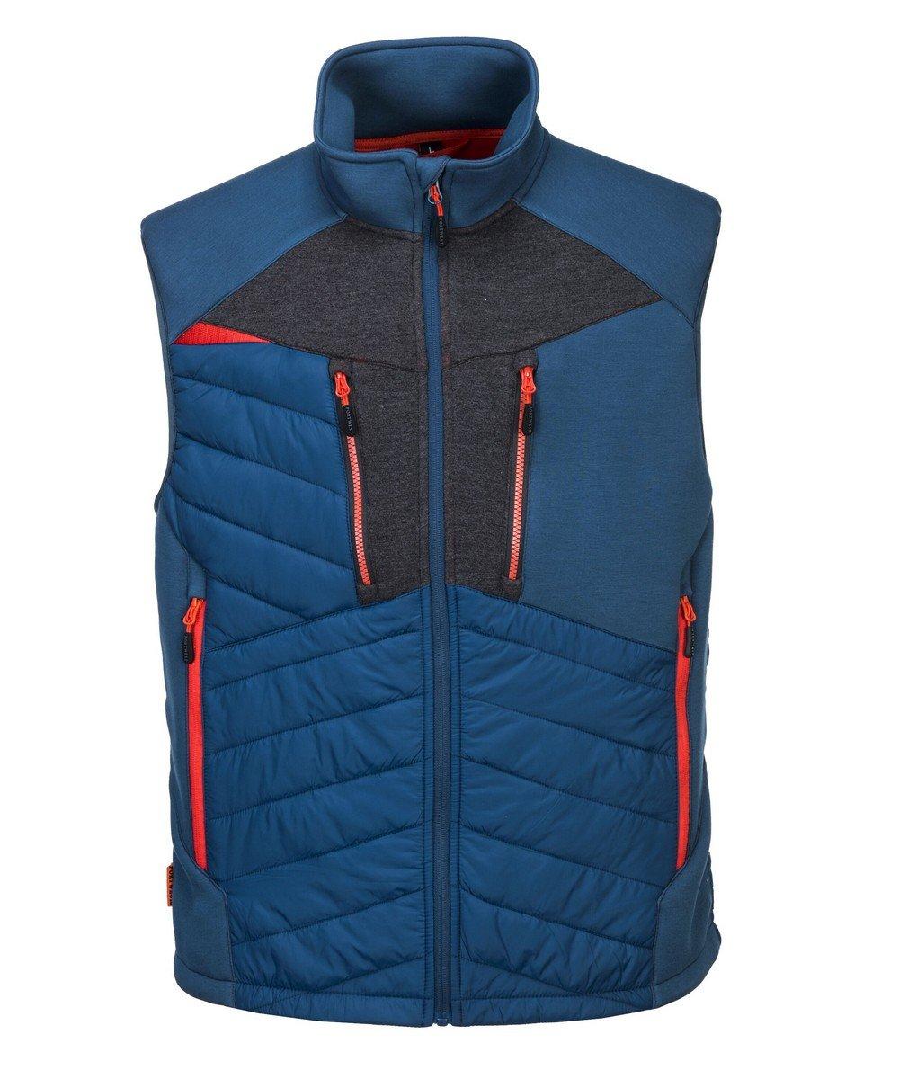 PPG Workwear Portwest DX4 Baffle Gilet DX470 Blue Colour