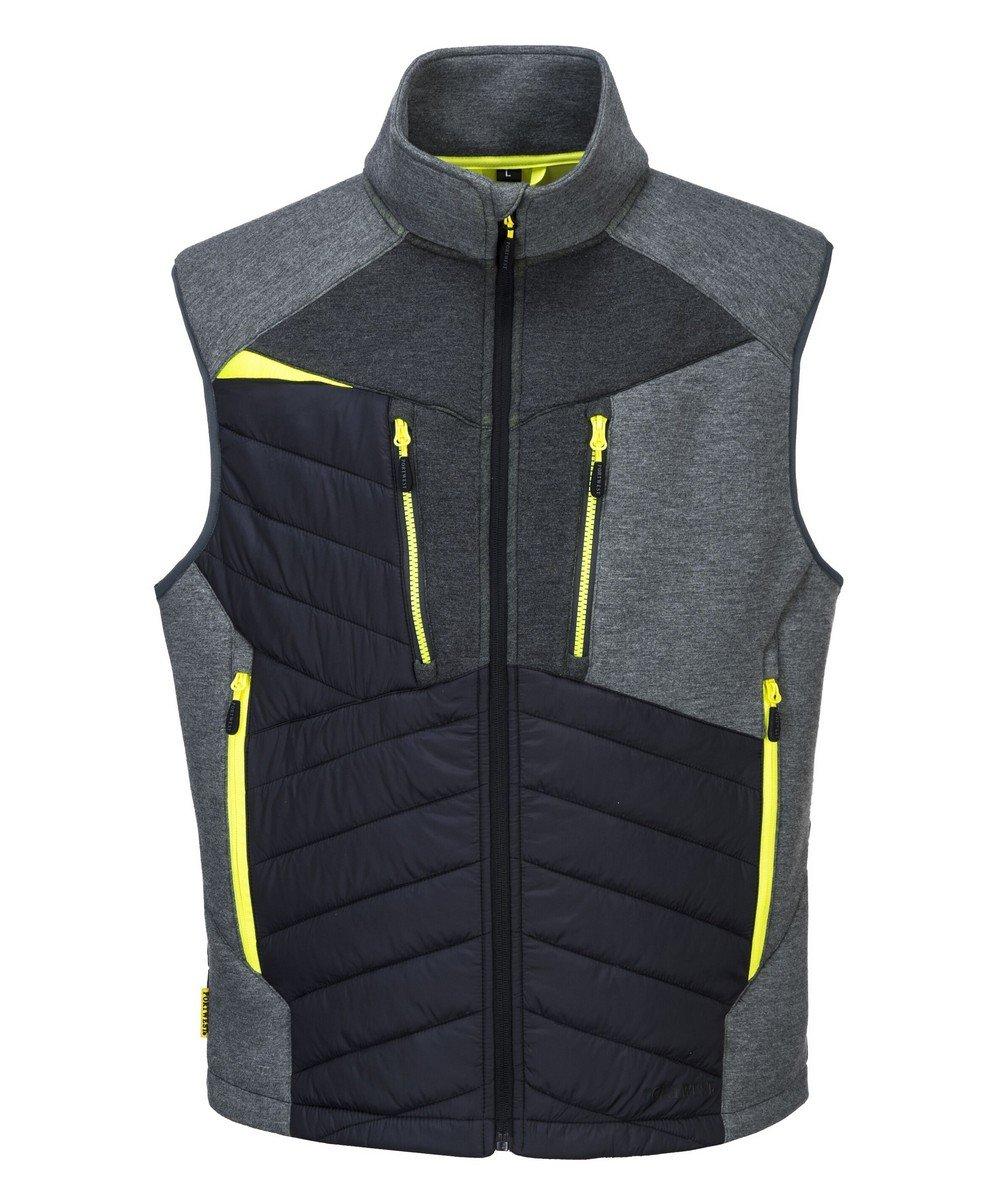 PPG Workwear Portwest DX4 Baffle Gilet DX470 Grey Colour