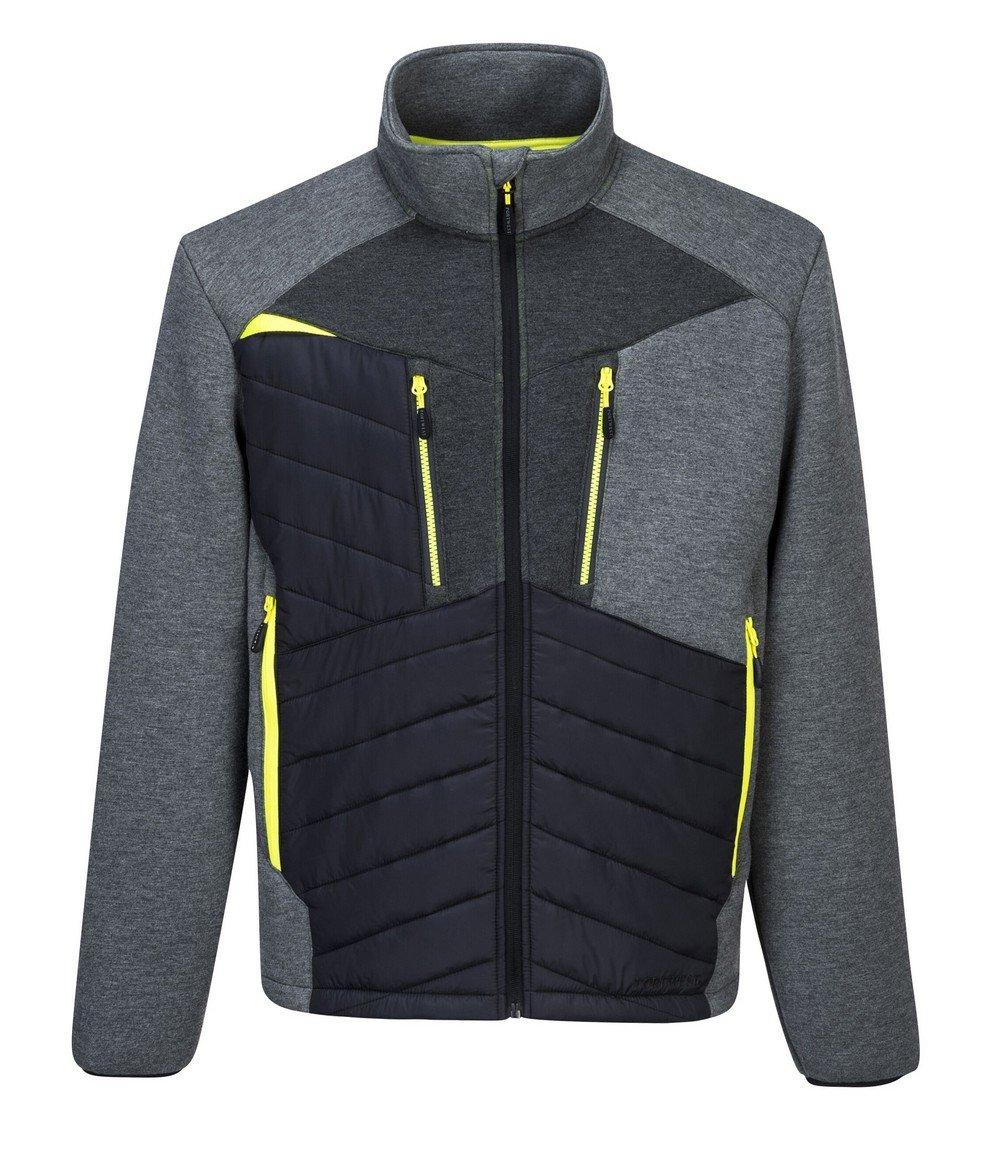 PPG Workwear Portwest DX4 Baffle Jacket DX471 Grey Colour