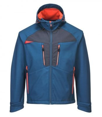 PPG Workwear Portwest DX4 Softshell Jacket DX474 Blue Colour