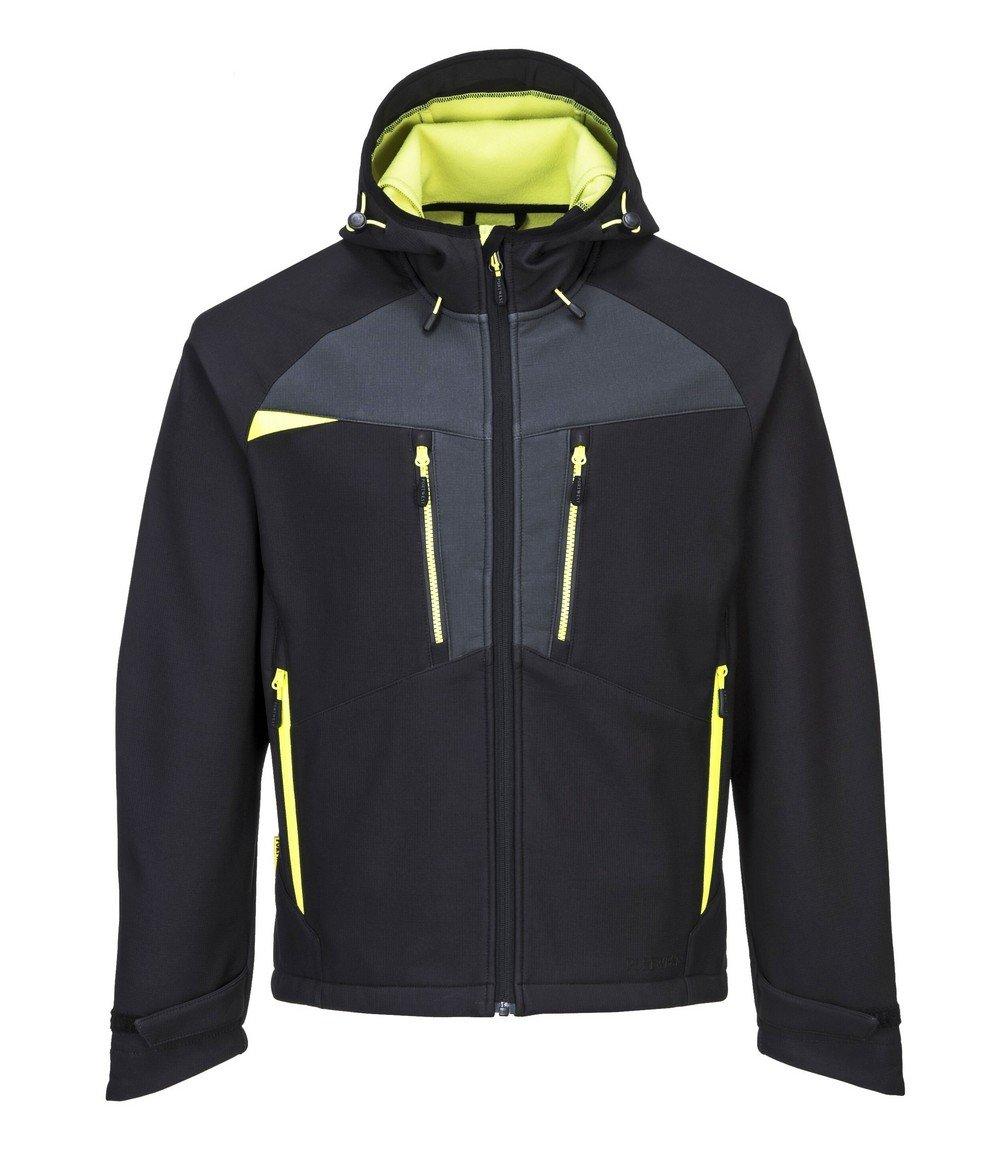 PPG Workwear Portwest DX4 Softshell Jacket DX474 Black Colour