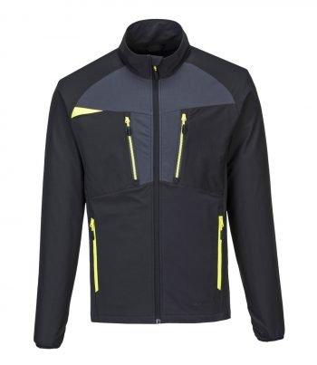 PPG Workwear Portwest DX4 Zip Base Layer Top DX480 Black Colour