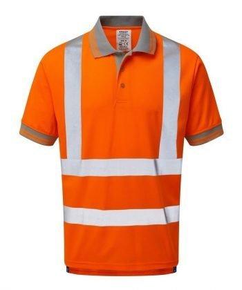 Pulsar Rail Short Sleeve Polo Shirt PR176 Front View